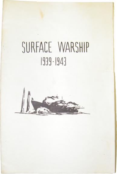 Out of Print Miniatures Rules Surface Warship
