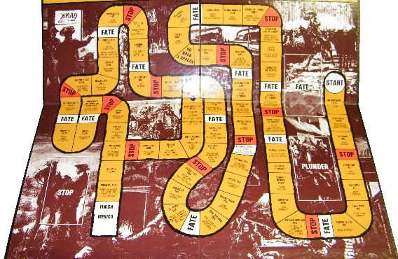 OOP40000 Out of Print Board Game Outlaw Trail