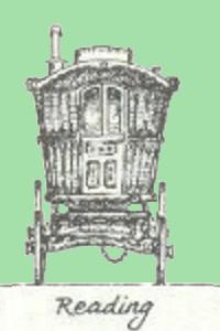Gypsy Reading Vardo - Miniatures Storage Solution